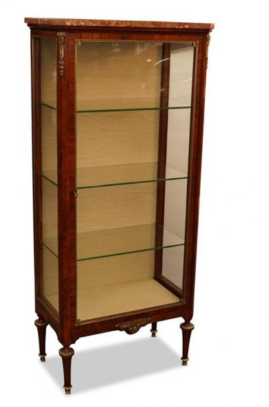 19th Century French Kingwood Louis XV Style Vitrine. c.1880 – Valentines